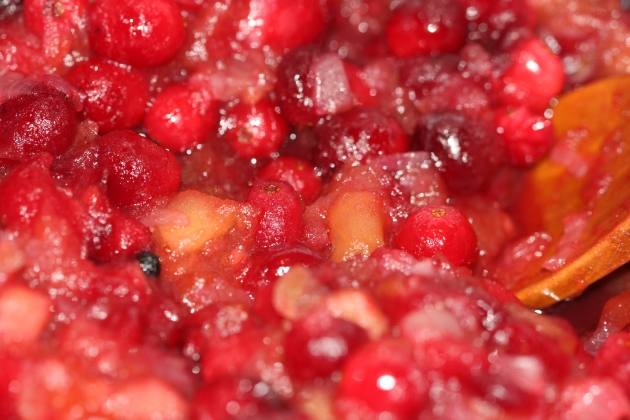 Cranberries Added